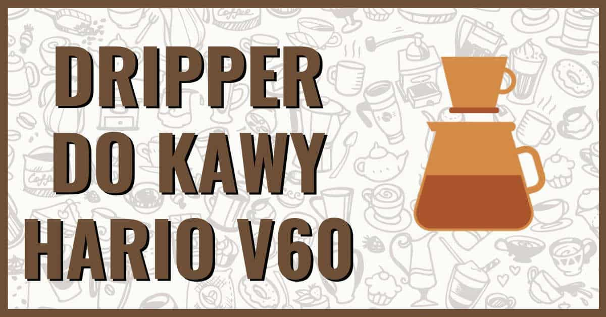 Dripper do kawy Hario V60