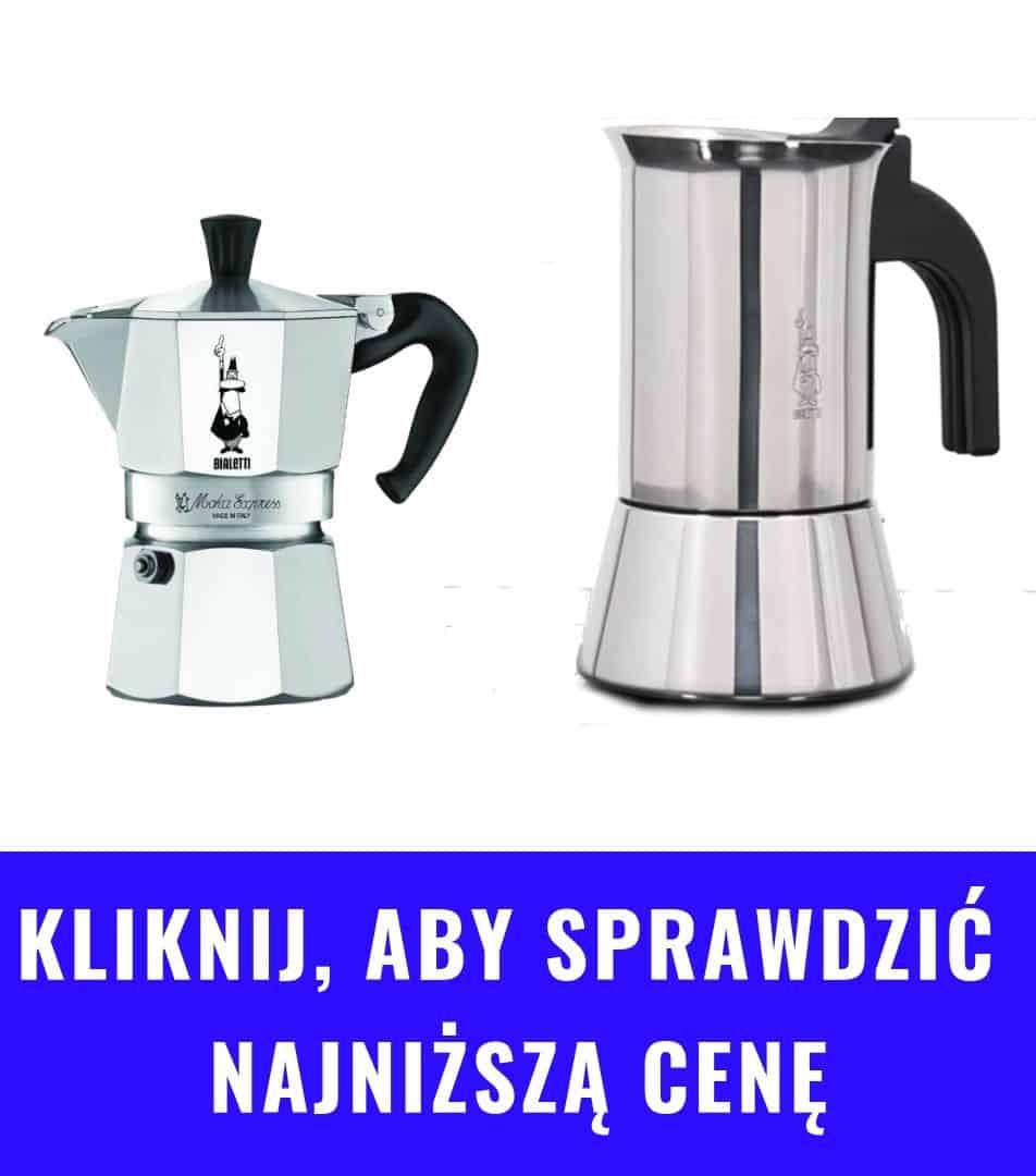 Kawiarki Bialetti różne rodzaje