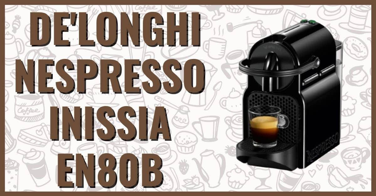 Ekspres kapsułkowy Delonghi Nespresso Inissia opinie