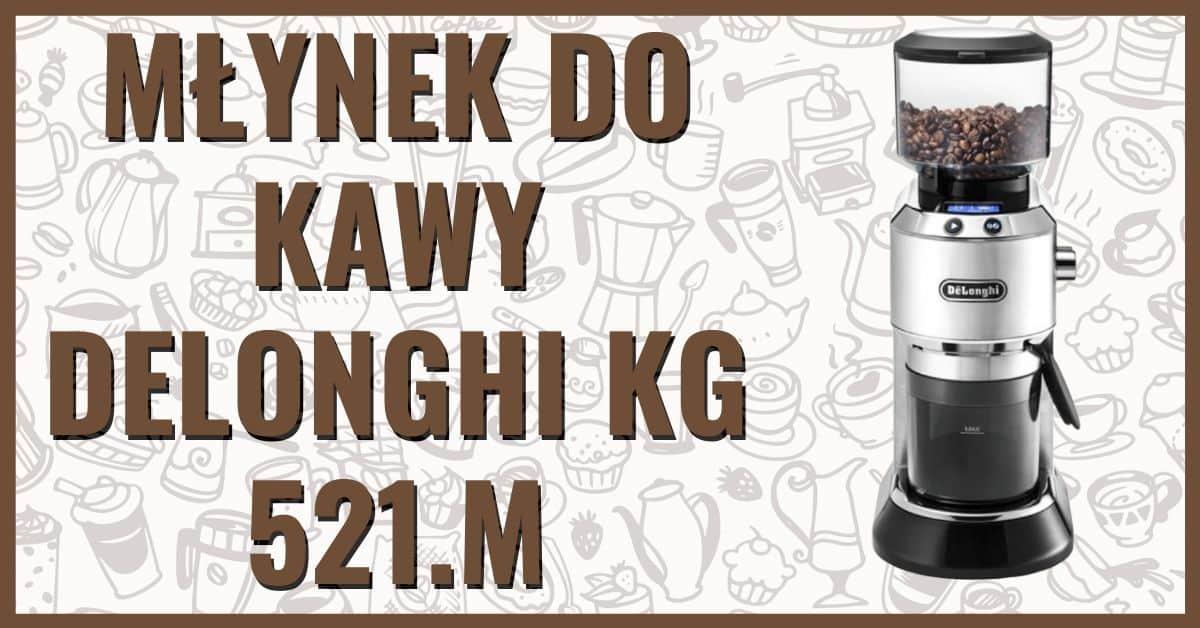 Mlynek do kawy żarnowy Delonghi KG521.m opinie