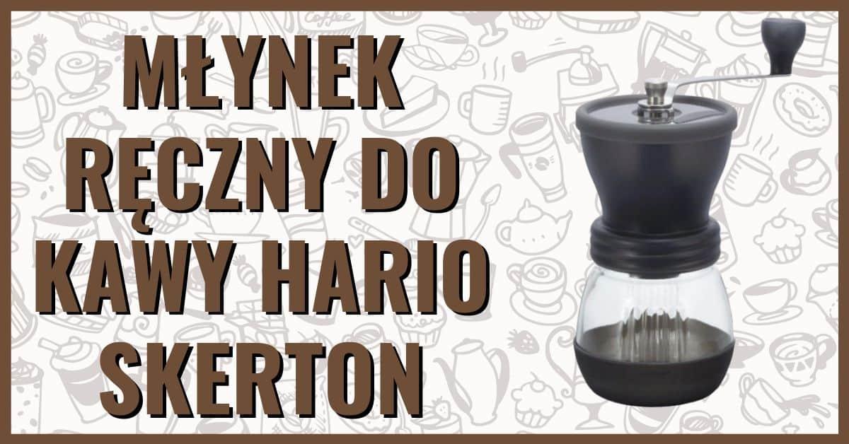 Młynek do kawy żarnowy ręczny Hario Skerton opinie