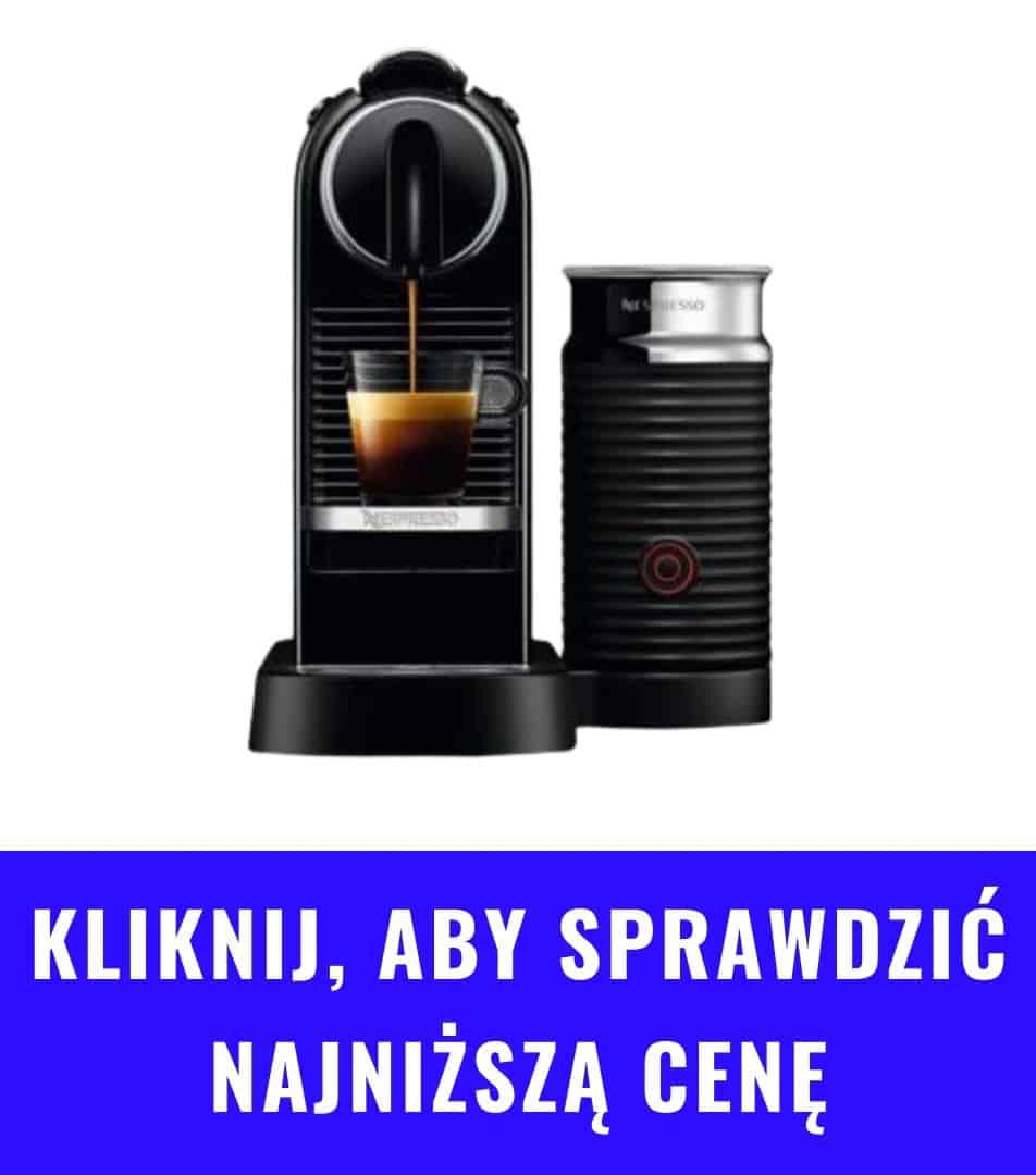 Ekspres kapsułkowy DeLonghi Nespresso Citiz Milk
