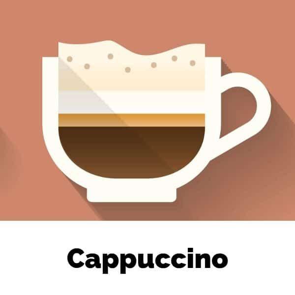 skład kawy cappuccino