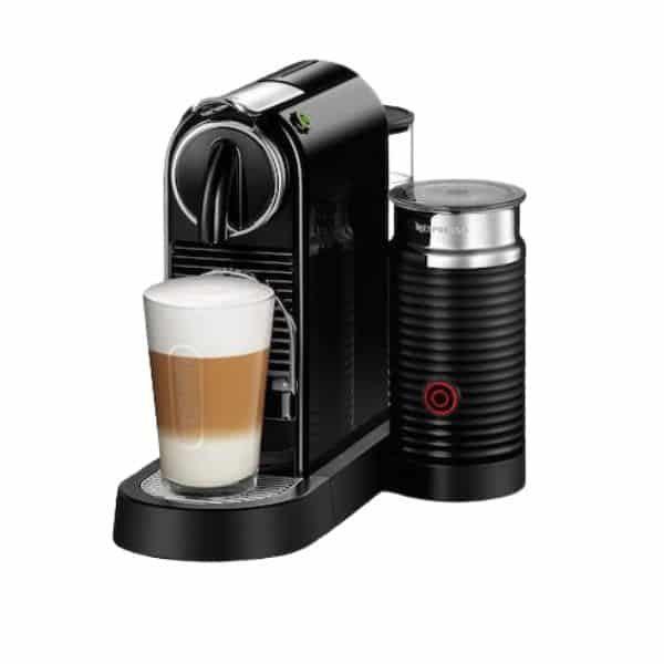 Delonghi Nespresso Citiz Milk test