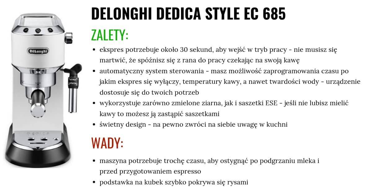 dedica style plusy i minusy
