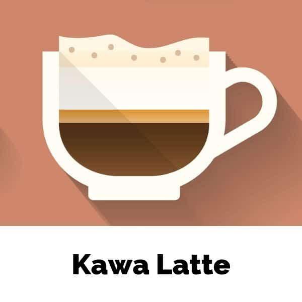 Skład kawy latte