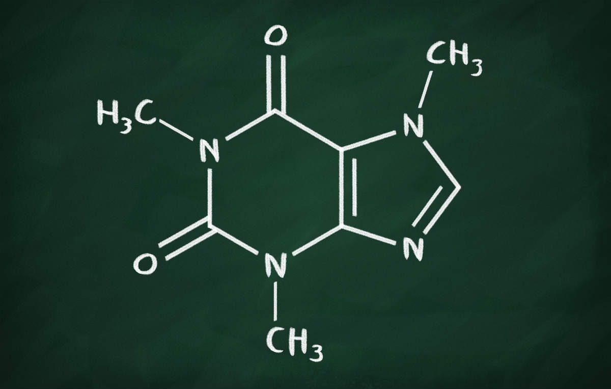 wzór chemiczny kofeiny
