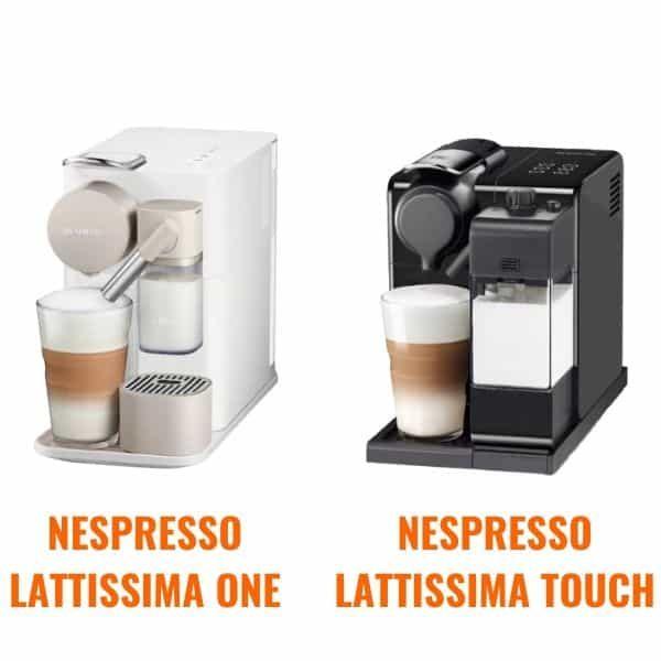 Lattissima One, a Lattissima Touch