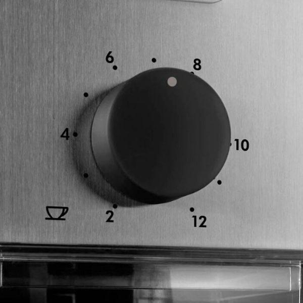 mlynek-zarnowy-delonghi-kg89-regulacja-ilosci-mielenia-kawy